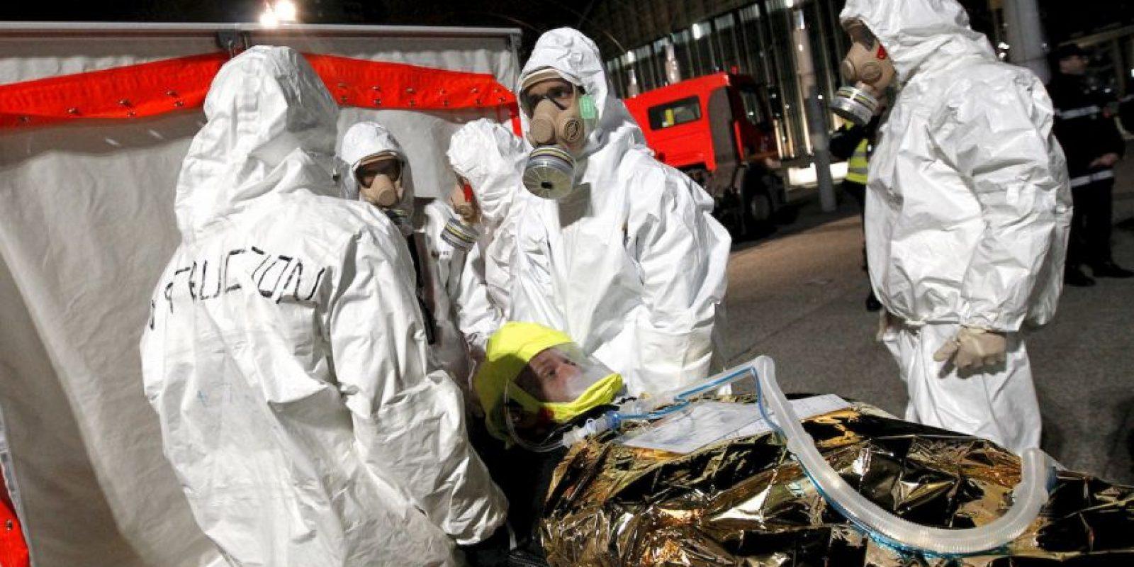 Según la cadena CNN, ocho personas fueron arrestadas y dos murieron en el operativo. Foto:AFP