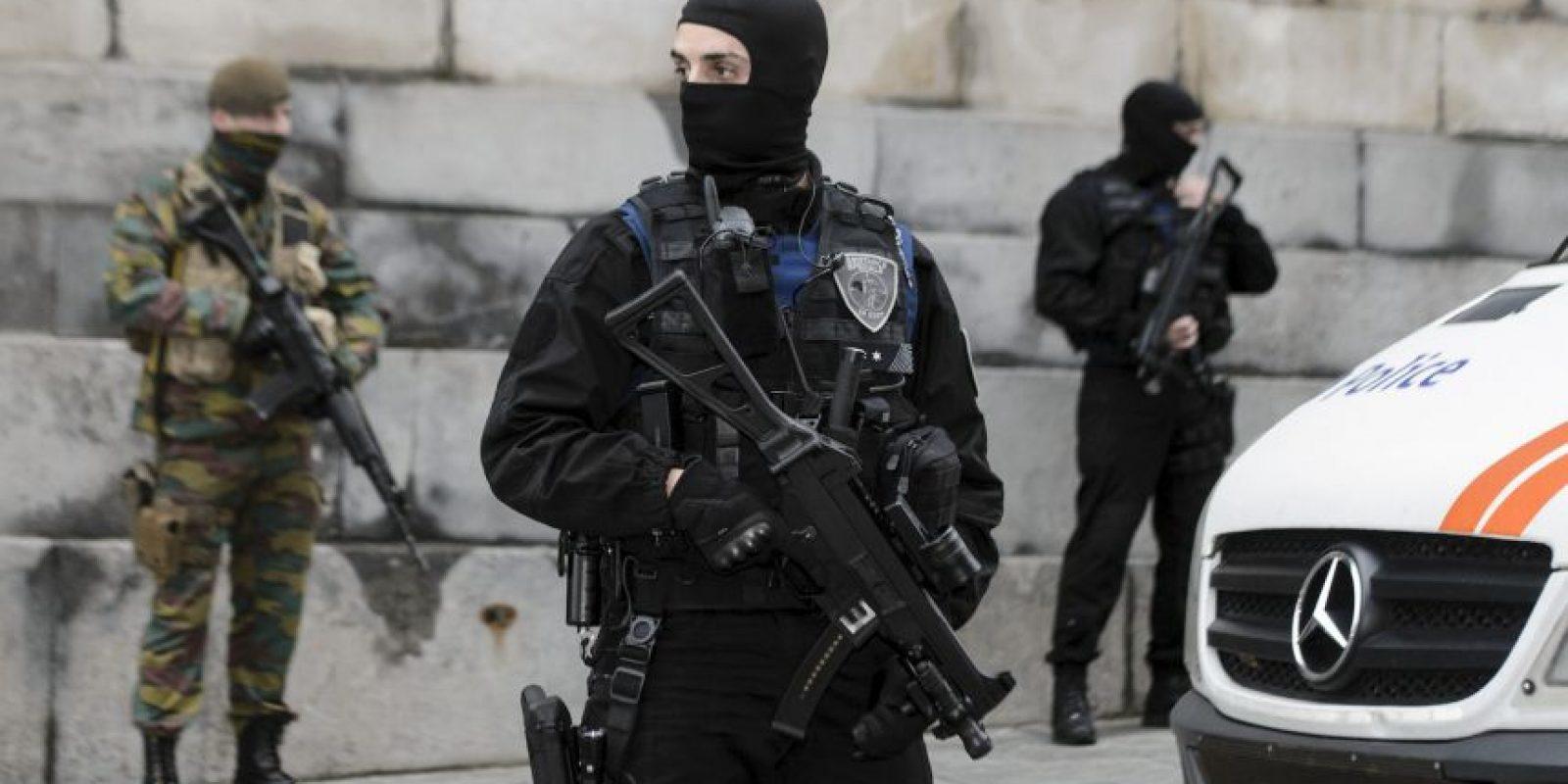 El motivo principal es Salah Abdeslam uno de los sospechosos de participar en los atentados de la semana pasada. Foto:AFP