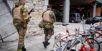 La alerta máxima fue anunciada en Bruselas, pero el resto del país mantiene un nivel 3. Foto:AFP