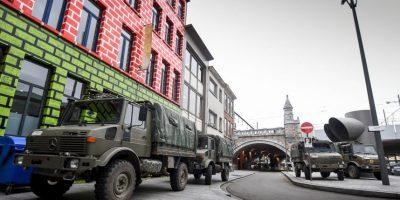 Como medida de seguridad los lugares públicos fueron cerrados. Foto:AFP