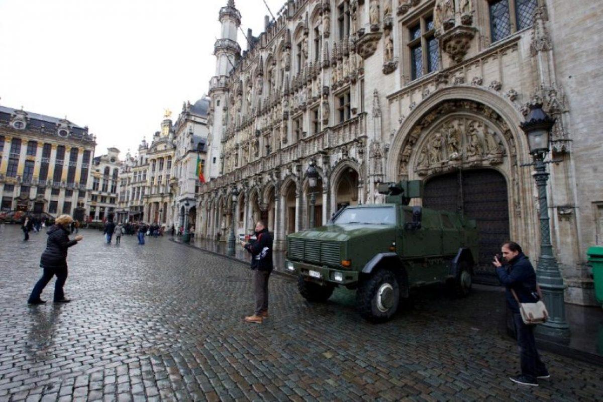 Bruselas intenta evitar un ataque terrorista. Foto:AFP