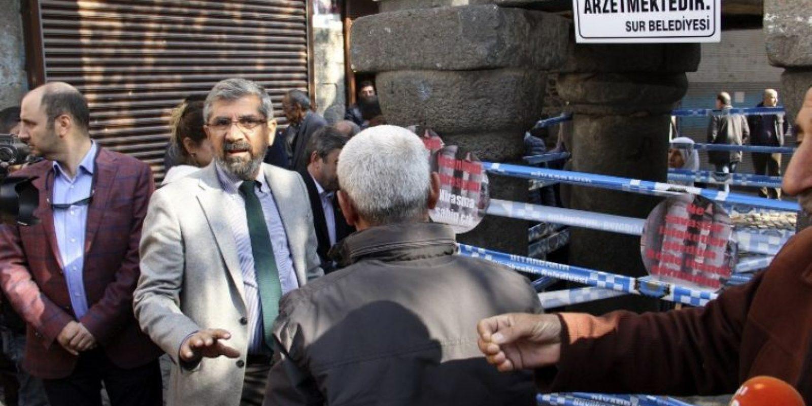Fue asesinado mientras ofrecía una conferencia de prensa Foto:AFP