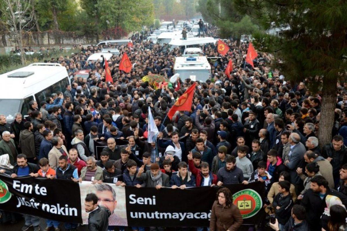 Salieron a las calles para darle el último adiós Foto: AFP