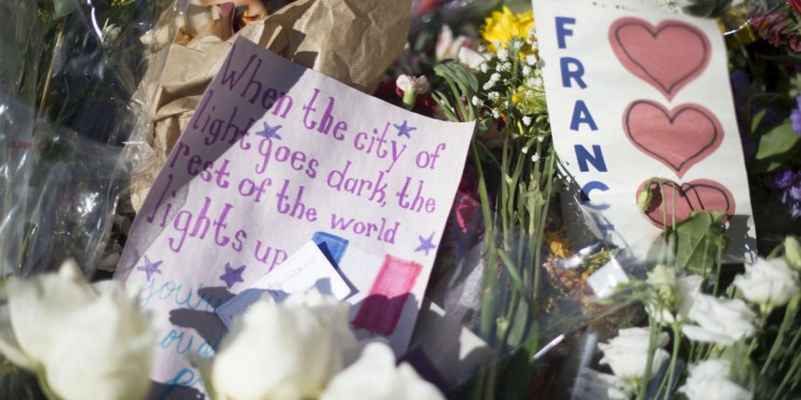 Los atentados de París del pasado 13 de noviembre dejaron un saldo de 130 muertos y más de 300 heridos. Foto:AFP