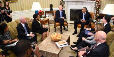 El presidente no aseguró que se tratara de terrorismo, pero lo relacionó. Foto:AFP