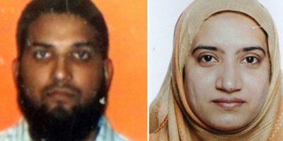 Syed Farook (izq) y Tashfeen Malik su esposa eran de origen paquistaní. Foto:AFP