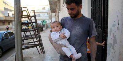 Yehya Maatouq es el padre de Wahida Foto:AFP