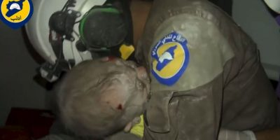 Su rescate fue ampliamente celebrado por los Cascos Blancos Foto:AFP