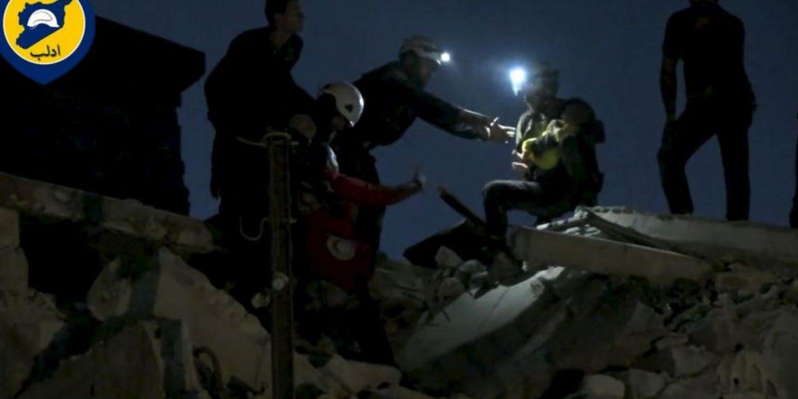 Un grupo de ayuda humanitaria en Siria Foto:AFP