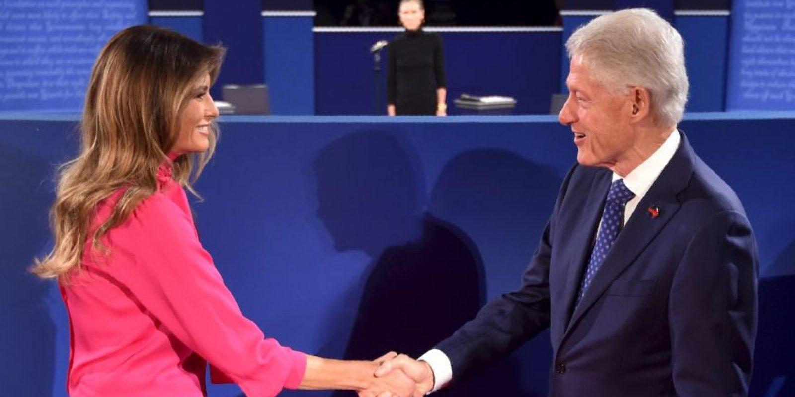 Ambos candidatos se volverán a enfrentar el 19 de octubre, en el último debate Foto:AFP