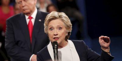 Anoche se realizó el segundo debate presidencial entre Donald Trump y Hillary Clinton Foto:AFP