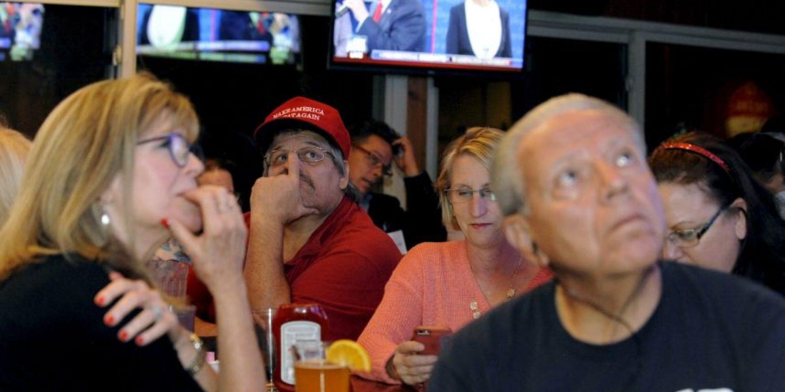 Durante el día se darán a conocer cuántas personas vieron el debate, aunque se estima que no rompió el récord de los 84 millones de personas del primer debate Foto:AFP