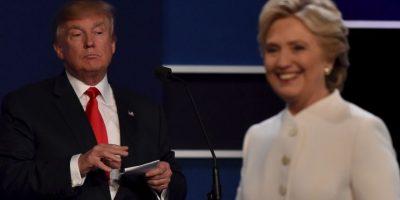 Al final, no hubo saludo entre los candidatos. Foto:AFP