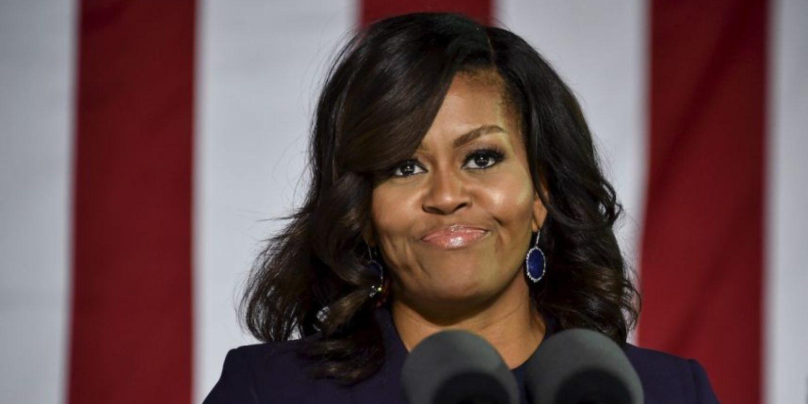 Las redes sociales piden que Michelle Obama sea presidenta de Estados Unidos Foto:AFP