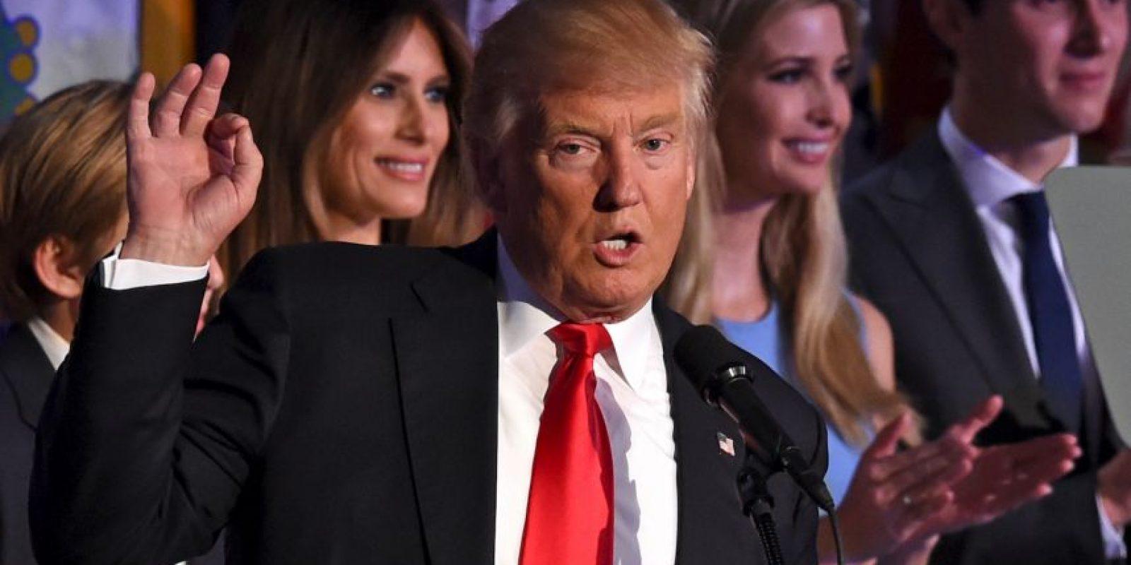 Donald Trump será el próximo presidente de Estados Unidos Foto:AFP