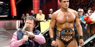 Y uno de los principales aliados de Sheamus, el Campeón Mundial Peso Pesado de la WWE Foto:WWE