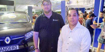 Carlos Gautier y Stalin Florentino, ejecutivos de Euromotors