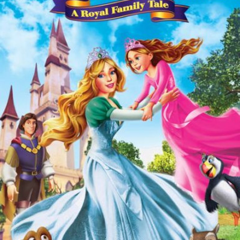 """The Swan Princess: A royal family tale"". Disponible a partir del 15 de diciembre. Foto: vía Netflix"