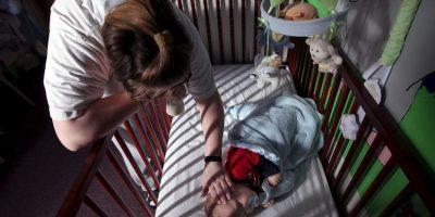 Lucía Desirée Pastenez, de Argentina sintió que revivió su propia historia cuando su hijo de 14 años le informó que sería papá. Foto:Getty Images