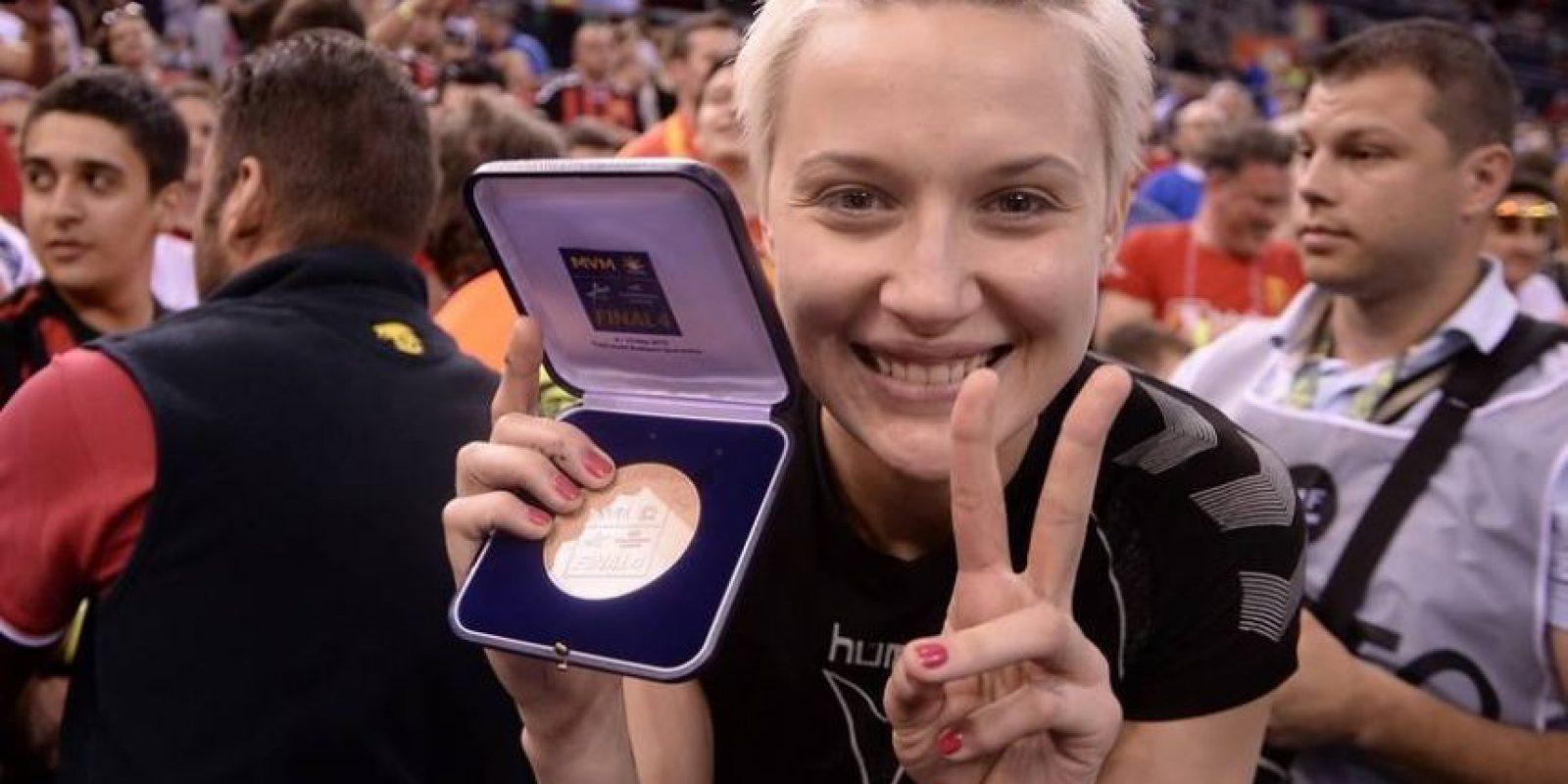 Es integrante de la Selección de Rusia. Foto:Vía facebook.com/Tatiana.KhmyrovaWHCVardar
