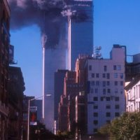 11 de septiembre de 2001. Foto:Getty Images