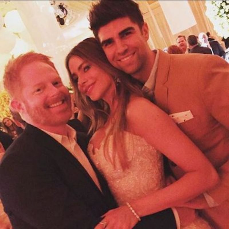 "La actriz colombiana mejor pagada de la televisión en Estados Unidos y el actor estadounidense se darán el ""sí"" el día de hoy en el exclusivo hotel The Breakers Palm Beach de Miami, Florida. Foto: Instagram.com/SofiaVergara"