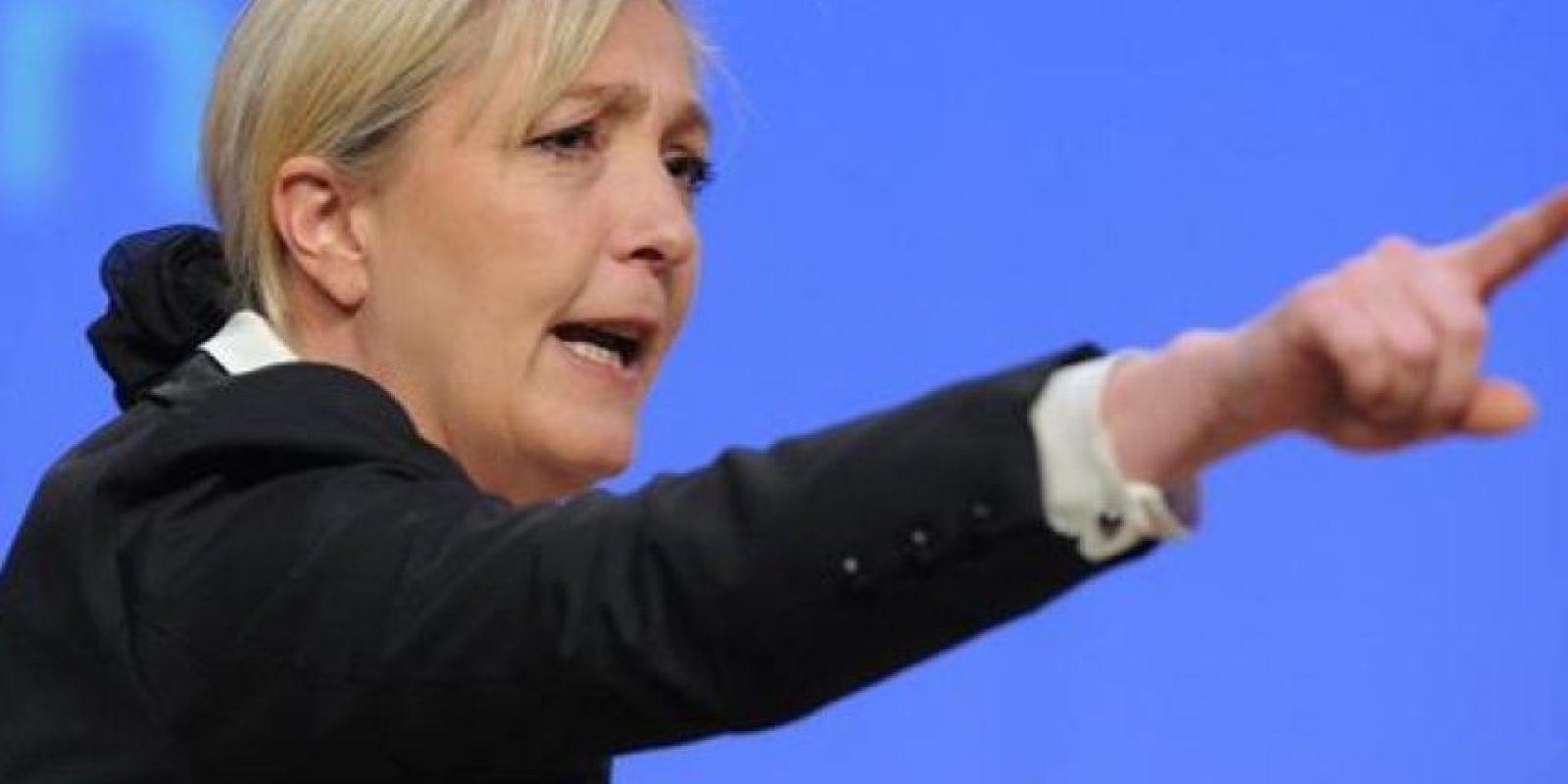 Marion Anne Perrine Le Pen es su nombre completo. Foto:Wikicommons