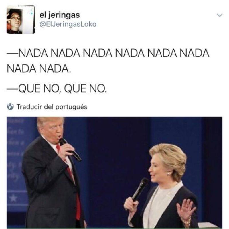 Trump y Hillary en un dueto Foto:Twitter.com