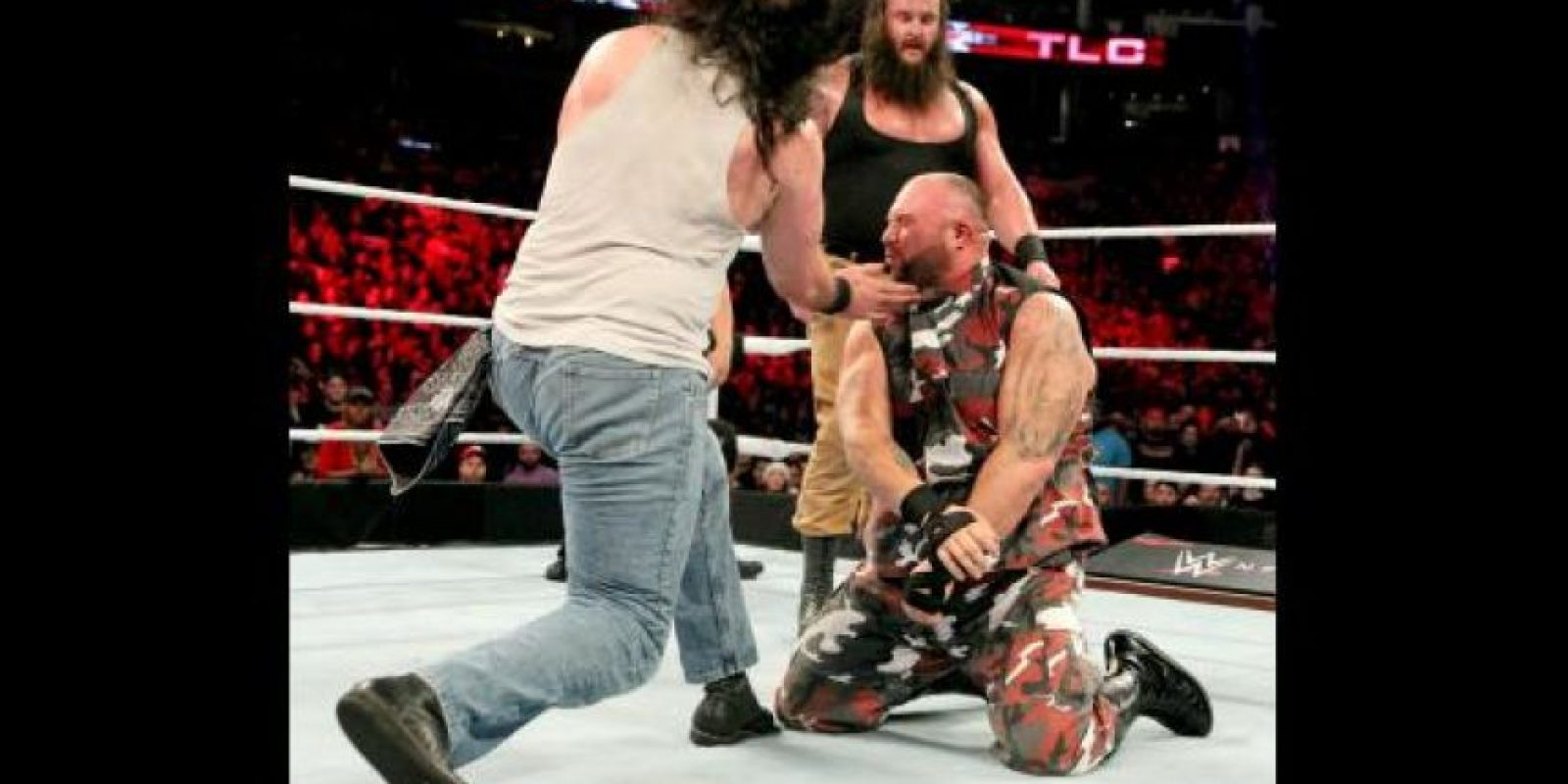 La Familia Wyatt superó a The ECW Originals Foto:WWE