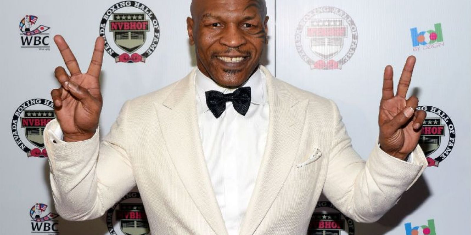Mike Tyson. Exboxeador Foto:Getty Images