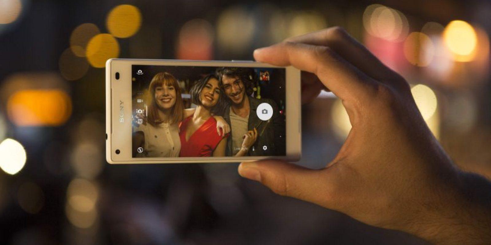 La revolucionaria cámara del Xperia Z5 promete ser más veloz que un parpadeo Foto:Fuente Externa