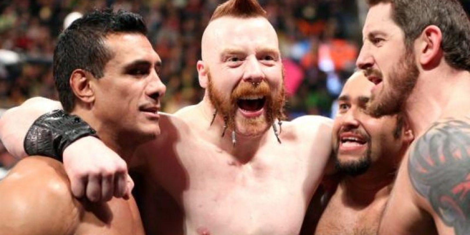 """Se hacen llamar la """"Liga de las Naciones"""" Foto:WWE"""