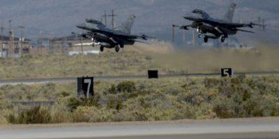 Después de escuchar tres fuertes golpes en la base aérea Kirtland, todo que se reportó a las autoridades. Foto:Vía kirtland.af.mil/
