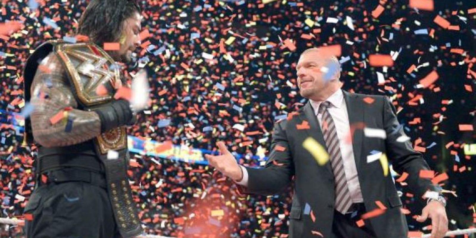 Hasta que apareció Triple H Foto:WWE