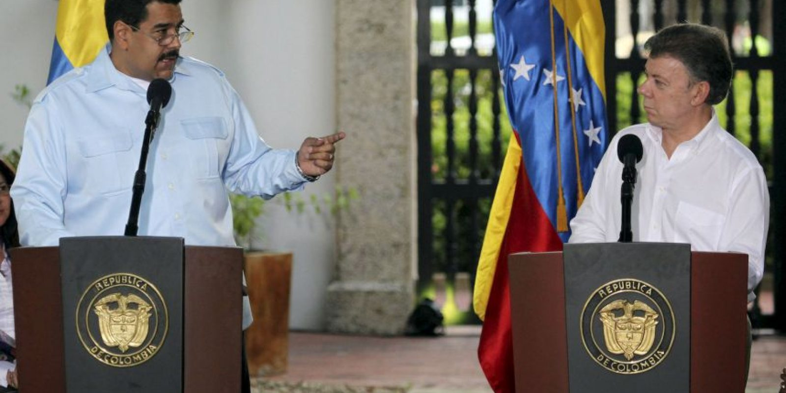"""""""Miren esta figura que les apareció a los trabajadores. Un rostro, ¿quién está en ese rostro? Una mirada, es la mirada de la patria que está en todos lados, inclusive en fenómenos que no tienen explicación"""", aseguró dando a entender que se trataba del rostros del fenecido Hugo Chávez. Foto:Getty Images"""