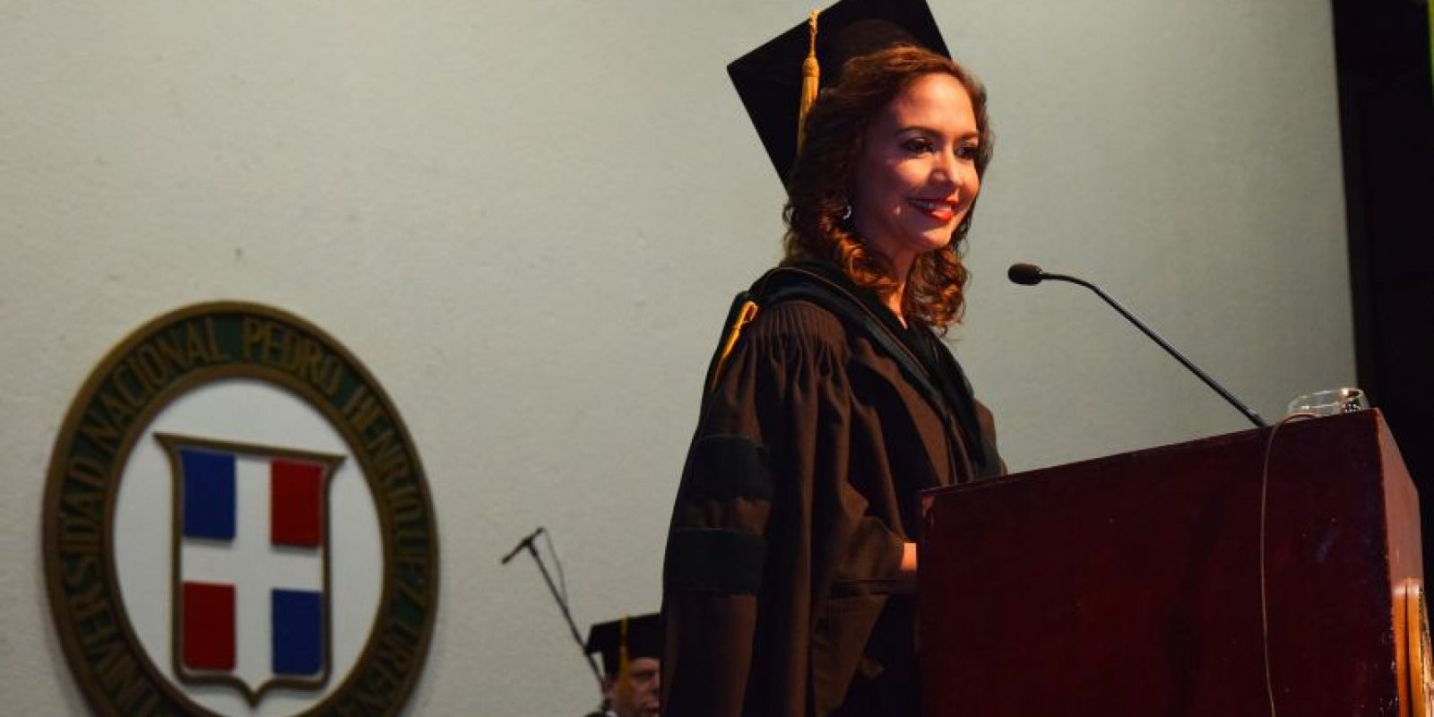 Ligia Peralta, Oradora invitada y egresada de medicina. Foto:Fuente Externa