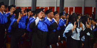 Juramento de los graduandos Foto:Fuente Externa