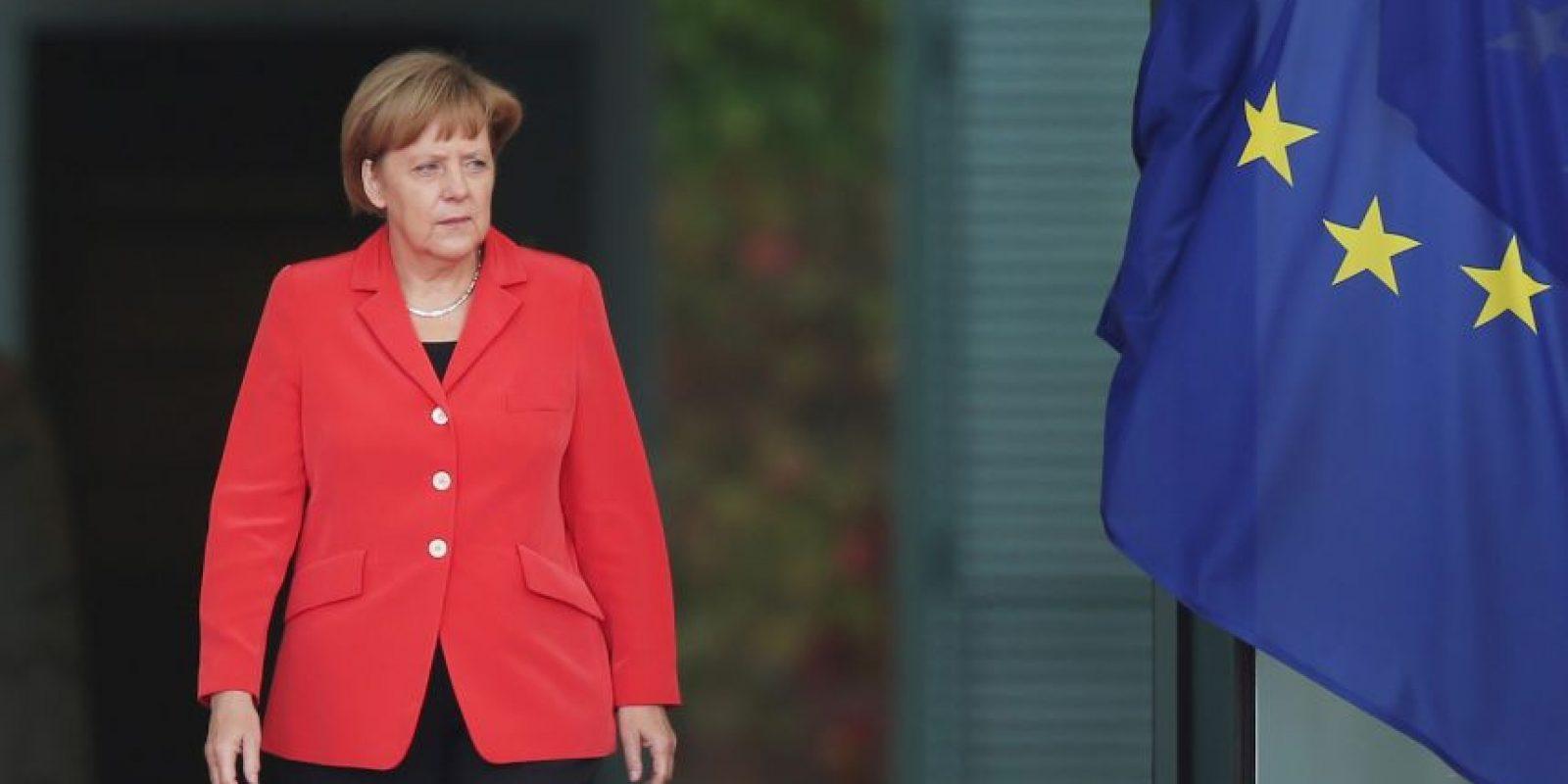 Es la canciller de Alemania. Foto:Getty Images