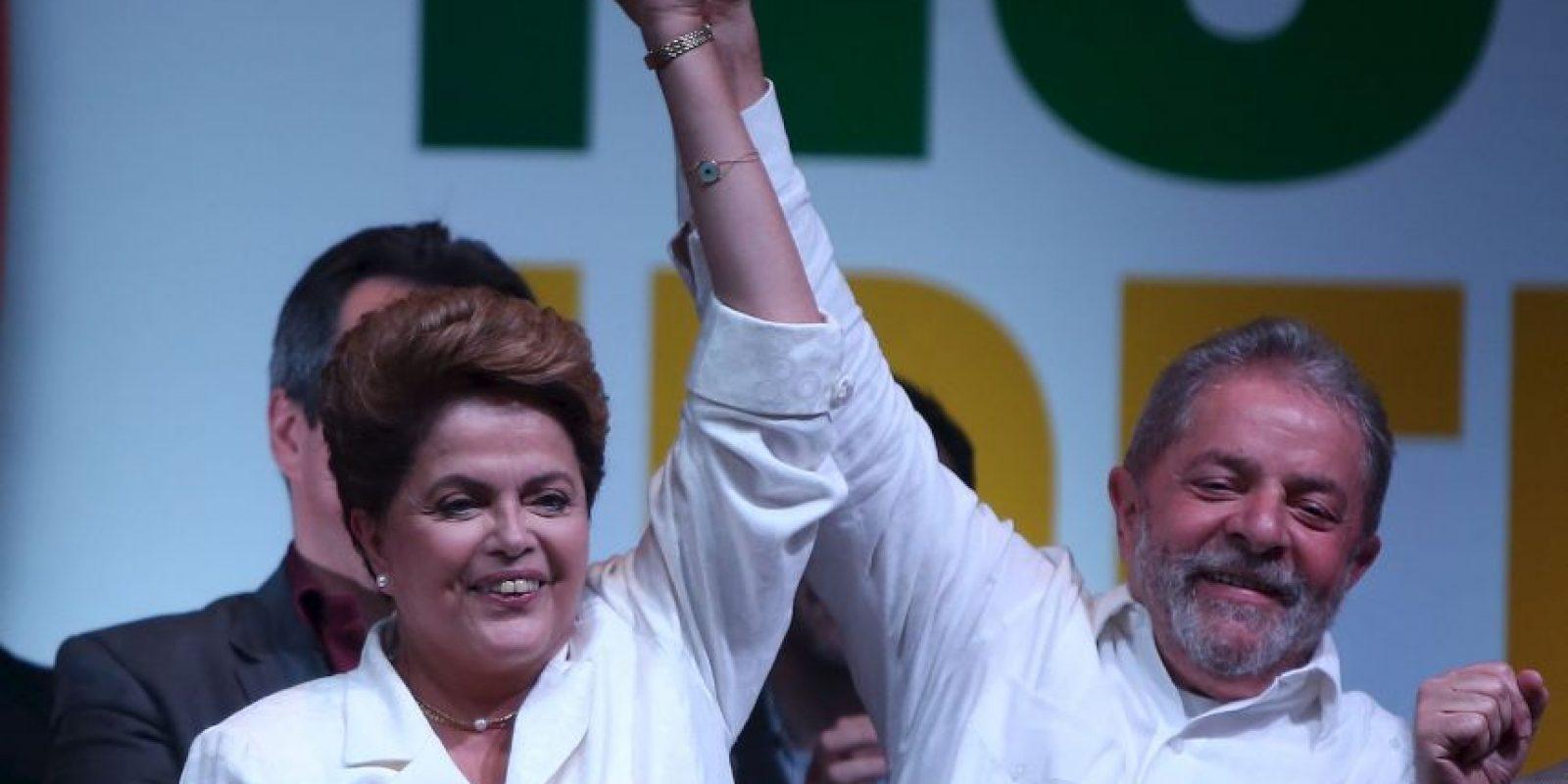 10. De ser destituida el vicepresidente Michel Temer asumiría el cargo. Foto:Getty Images