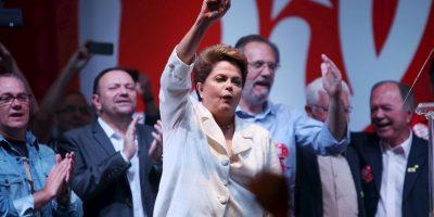 5. Miles de personas realizaron múltiples manifestaciones este año para pedir su destitución. Foto:Getty Images