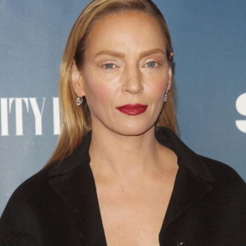 No se hizo nada, pero un labial oscuro y nada de acento en los ojos la hicieron ver como un alien. Foto:vía Getty Images