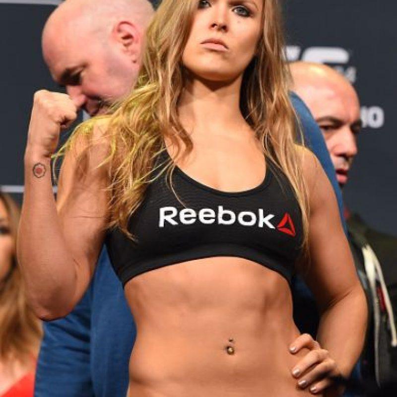 Enfrentó a Holly Holm en UFC 193 y fue noqueada. Foto:Getty Images