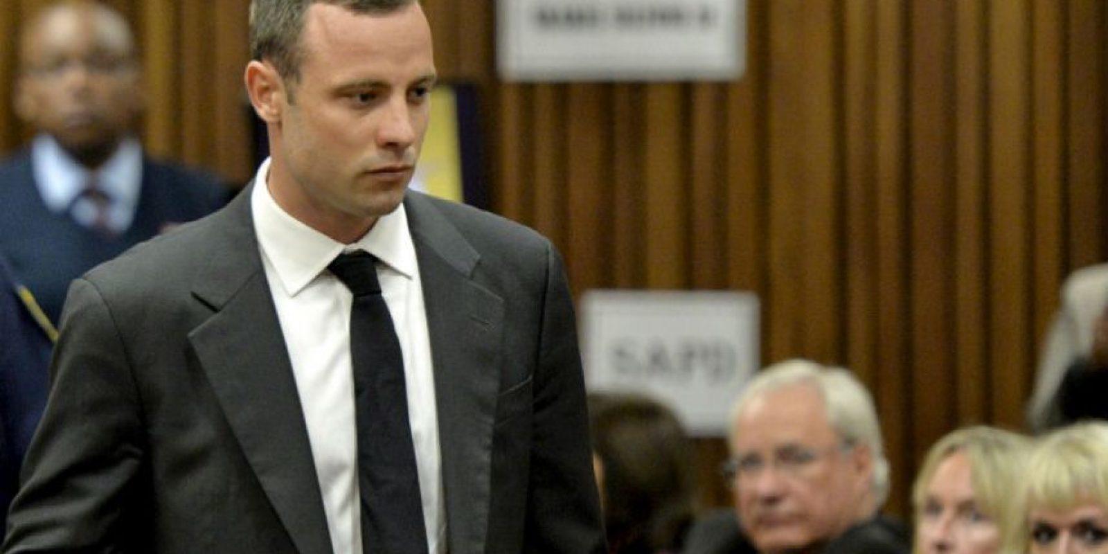Oscar Pistorius. Fue encontrado culpable del asesinato de su novia y enfrenta una condena de 15 años Foto:Getty Images