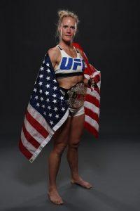 Holly Holm es la monarca actual de Peso Gallo de Mujeres en la UFC. Foto:Getty Images