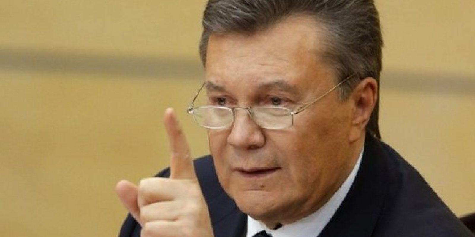 """Viktor Yanukovych. El expresidente de UcraniaTiene el tercer lugar, con 60 votos. """"Vivió en casa multimillonaria.Millones en activos estatales terminaron en manos privadas.Huyó a Rusia tras ser acusado de malversación de fondos"""". Foto:Fuente Externa"""