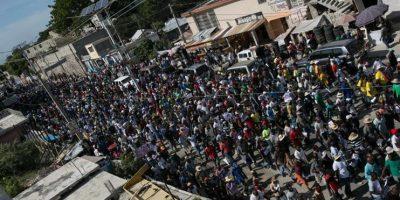 Manifestaciones en Haití tras conocerse resultados