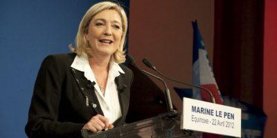 Marine Le Pen es la menor de las tres hijas de Jean-Marie Le Pen, presidente del Frente Nacional de 1972 a 2011. Foto:Wikicommons