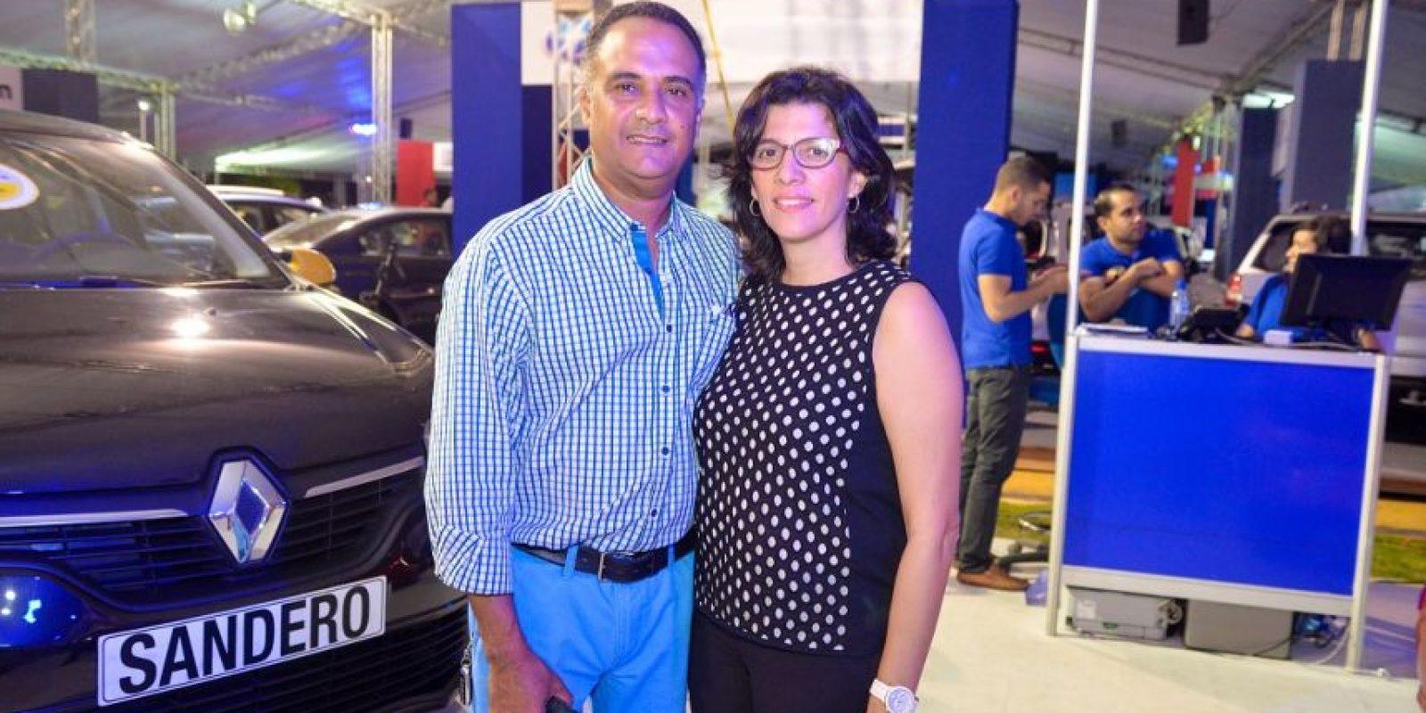 José Merete y Verónica Alvarez.