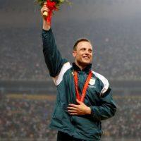 Medalla de oro en los 100 metros para hombres, Juegos Paralímpicos de Beijing 2008 Foto:Getty Images