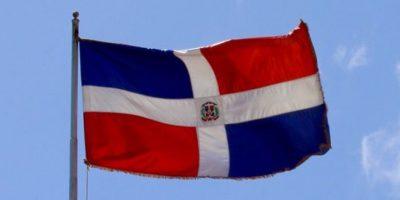 La bandera dominicana Foto:@PresidenciaRD